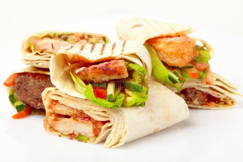 овощи tortilla стоковая фотография rf