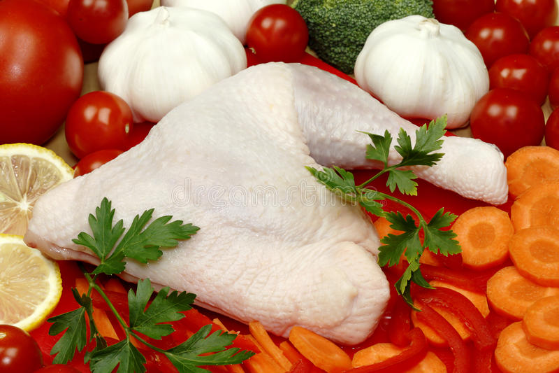 овощ ноги цыпленка стоковые изображения