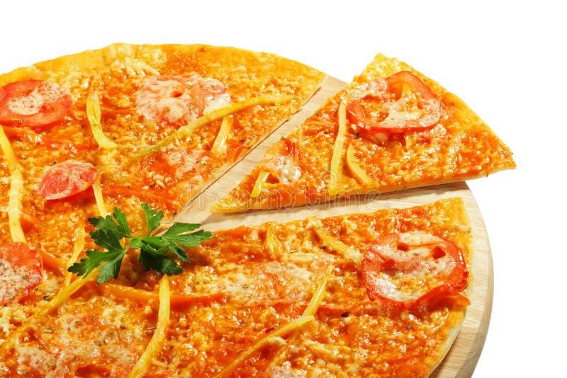 овощ пиццы стоковые изображения
