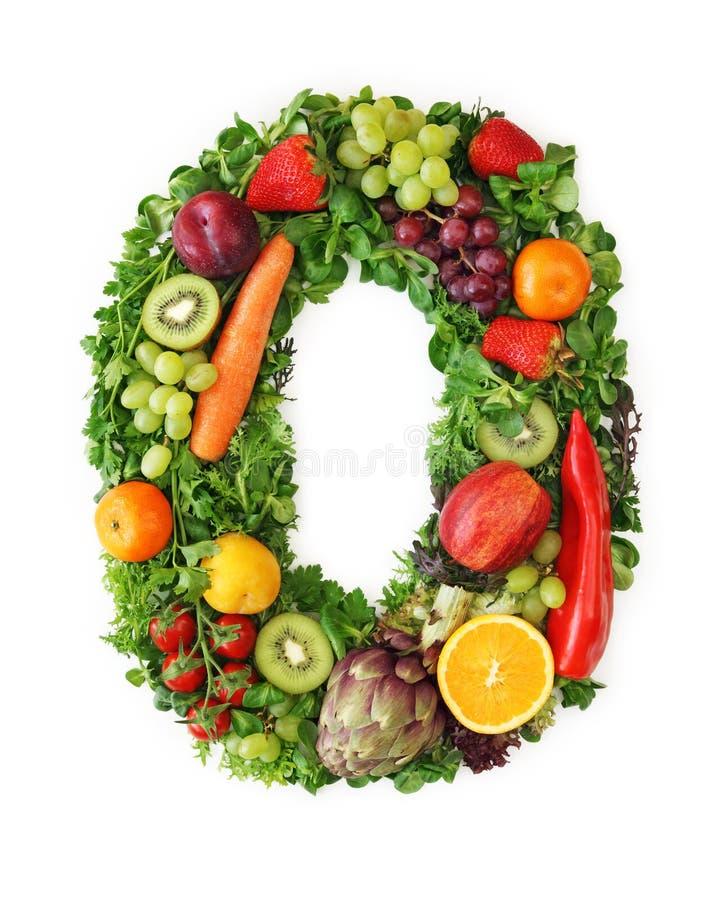 овощ плодоовощ алфавита стоковые изображения