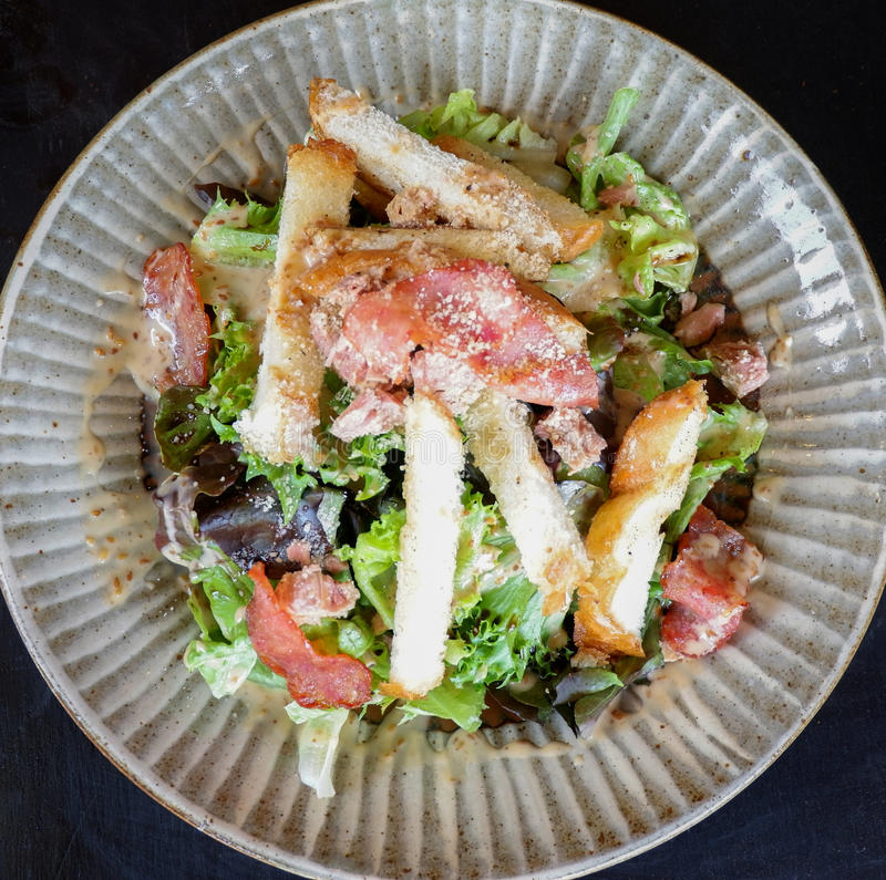 Овощ салата тунца свежий стоковое фото rf