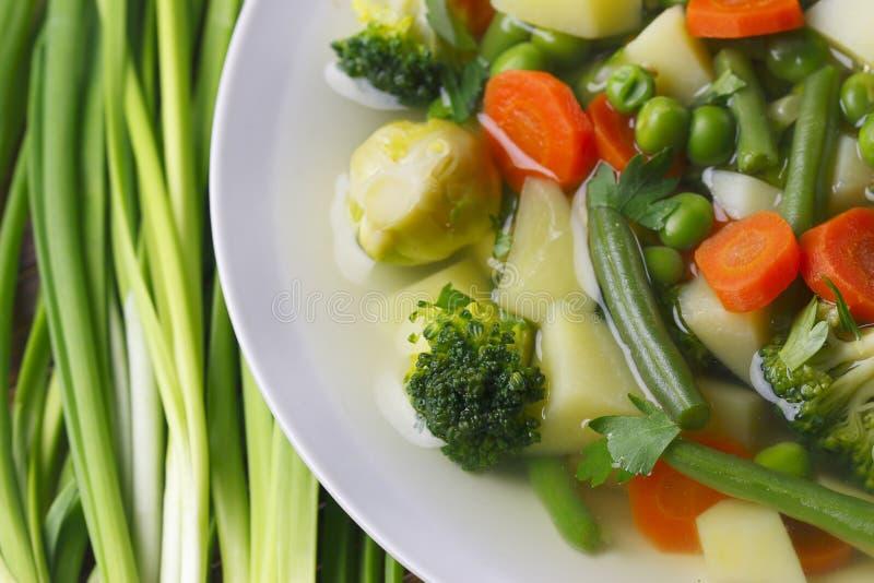 овощ супа диетпитания стоковые фотографии rf
