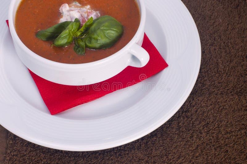 овощ томата супа шара стоковое фото rf