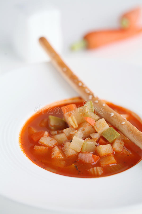 овощ томата супа шара стоковая фотография rf