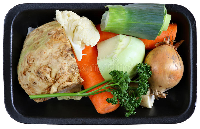 Овощ для супа стоковая фотография rf