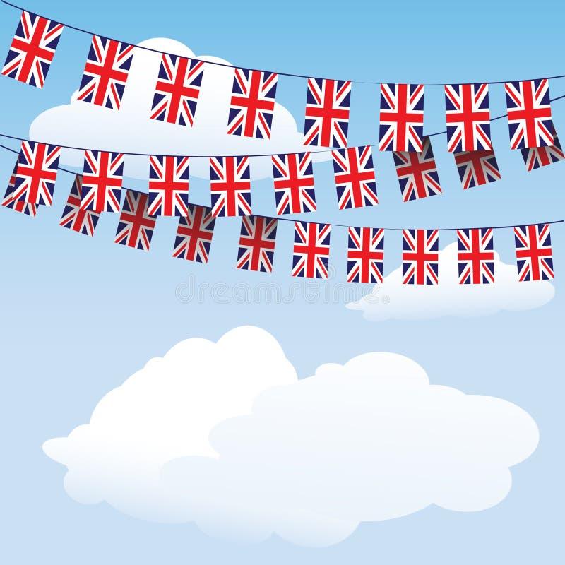 овсянка flags соединение jack иллюстрация штока