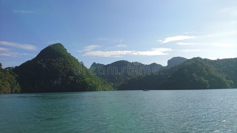 Овсянка Pulau Dayang & x28; Беременная девушка Island& x29; стоковая фотография