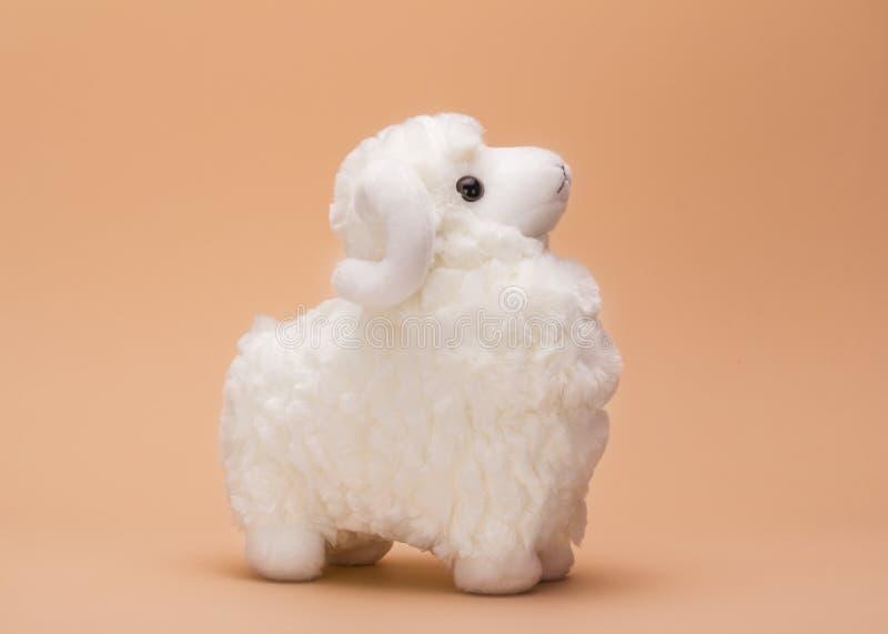 Овцы игрушки плюша стоковые изображения