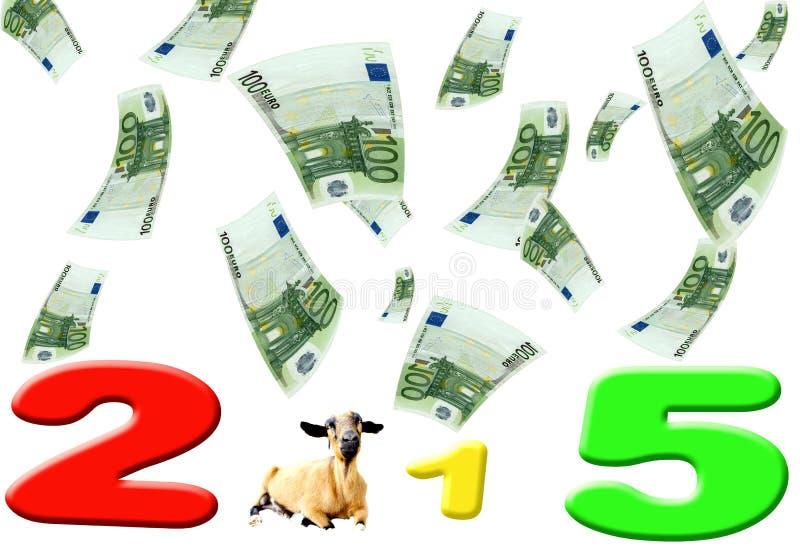 Овцы Нового Года 2015 бесплатная иллюстрация