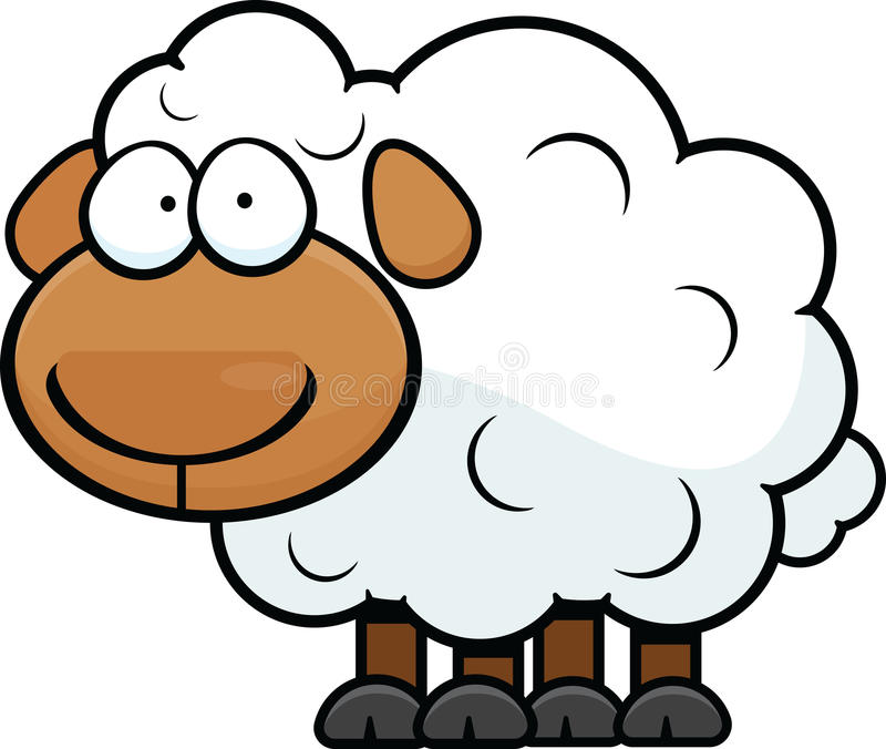 Овцы шаржа бесплатная иллюстрация