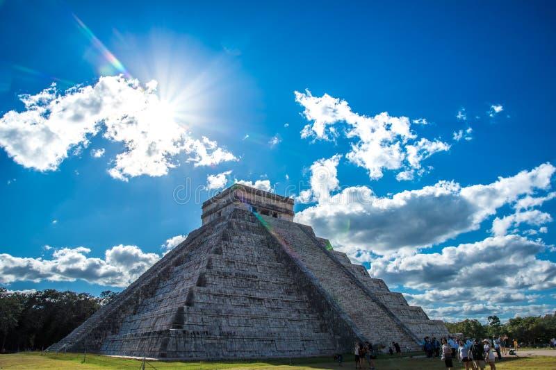 Оглушать chichen цивилизация Мексики itza старая стоковые изображения rf