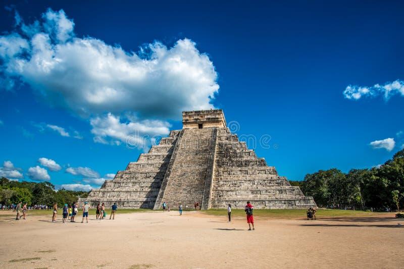 Оглушать chichen цивилизация Мексики itza старая стоковое фото rf