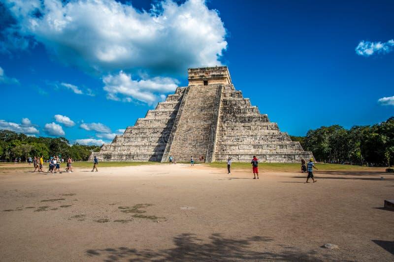 Оглушать chichen цивилизация Мексики itza старая стоковое изображение rf