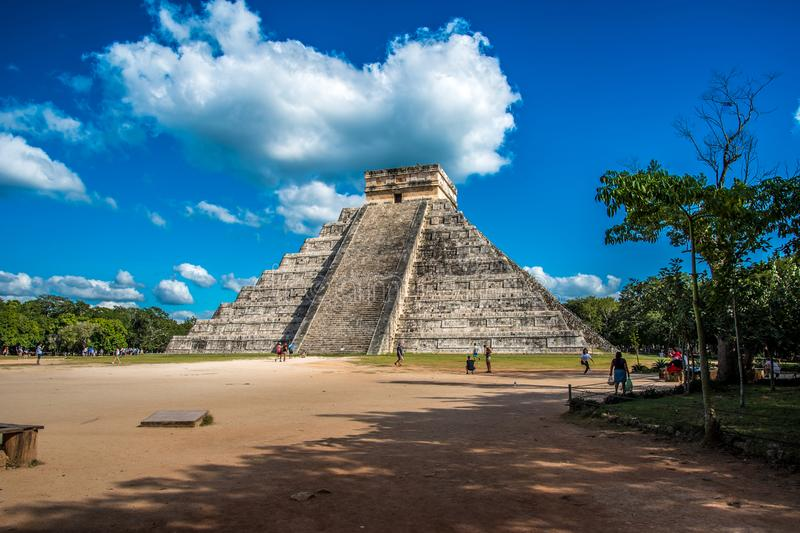 Оглушать chichen цивилизация Мексики itza старая стоковая фотография rf