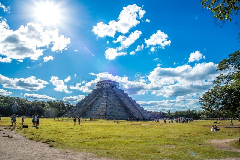 Оглушать chichen цивилизация Мексики itza старая стоковая фотография