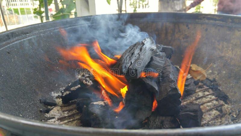 Огонь внутри стоковая фотография rf