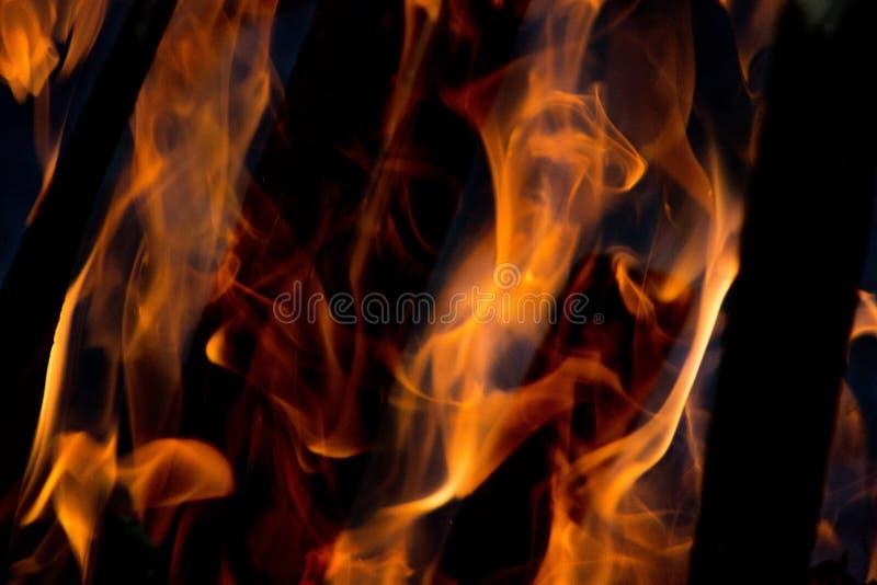 Огонь на 4000ths секунды стоковое изображение
