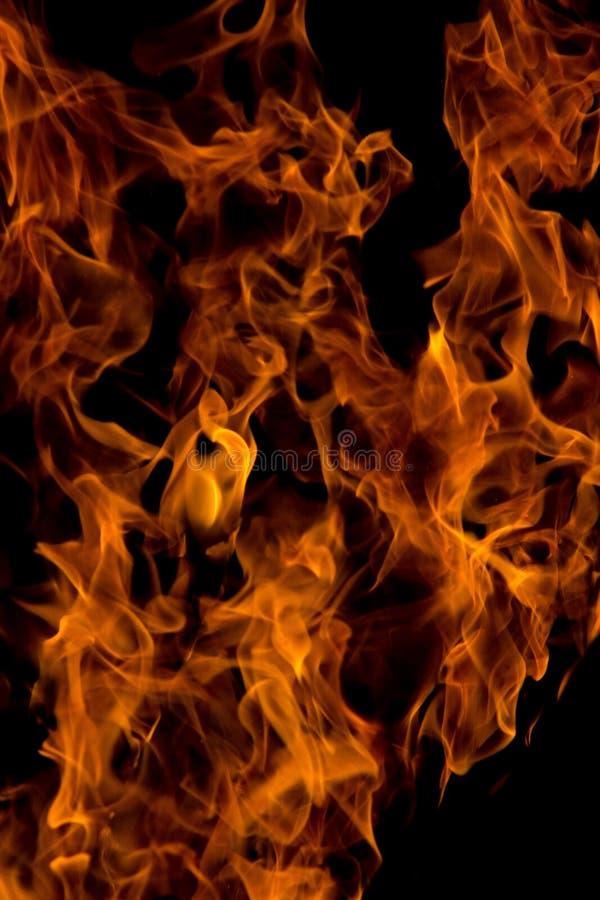 Огонь на 4000ths секунды стоковые фото