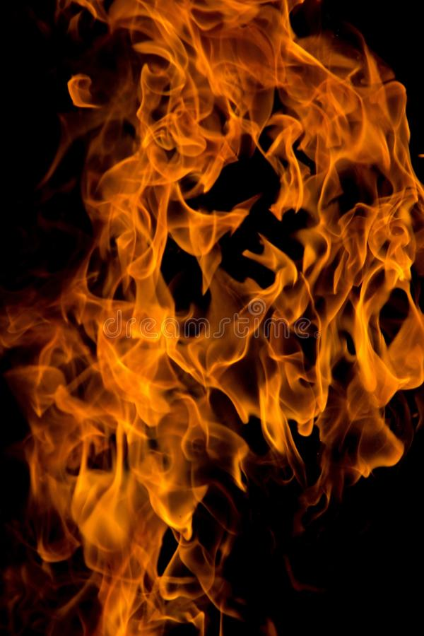 Огонь на 4000ths секунды стоковая фотография rf