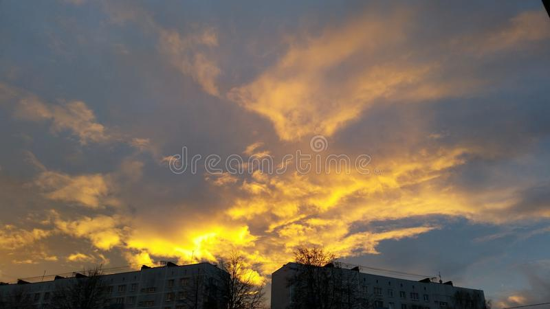 Огонь Солнця стоковое фото