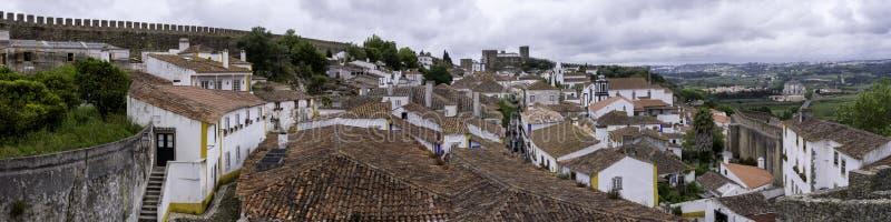 Огороженный город, Португалия стоковое изображение rf
