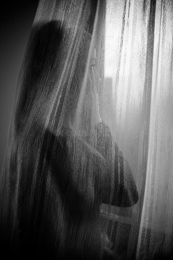 огорченная женщина стоковое изображение