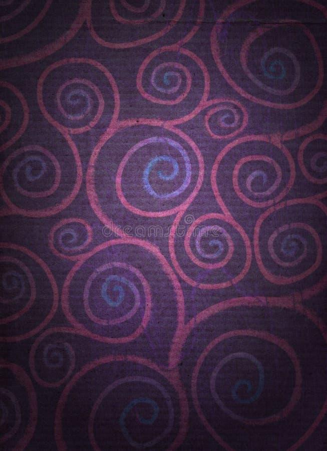 огорченные флористические спирали стоковые фотографии rf