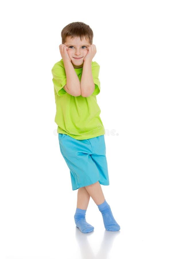 Огорченный мальчик стоковое изображение