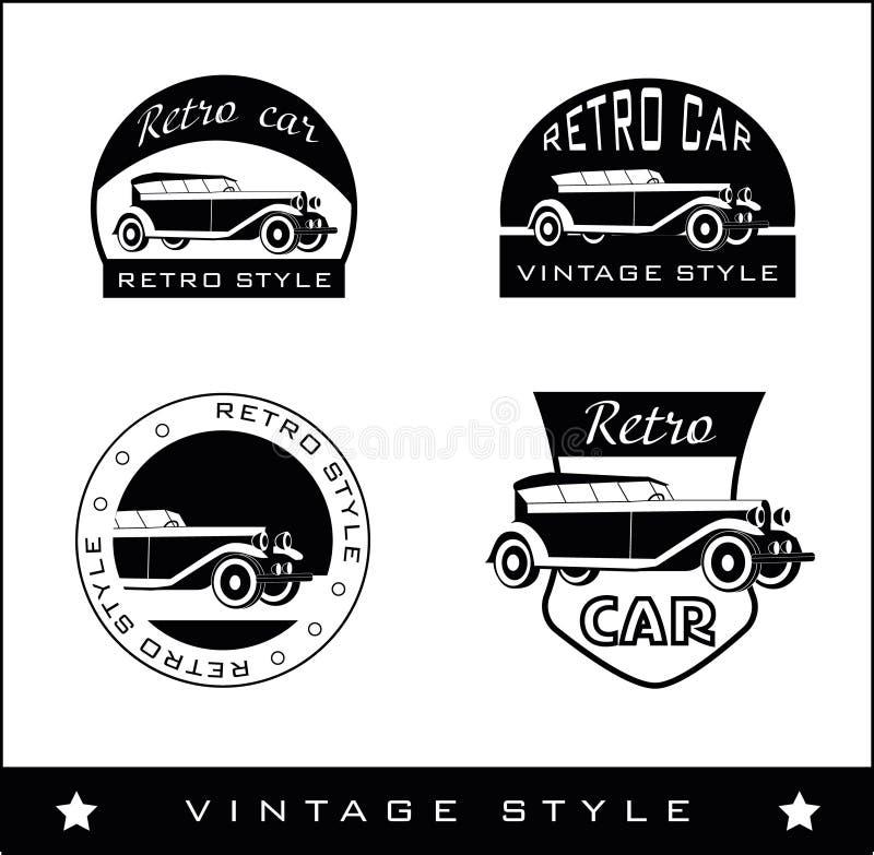 логосы установили иллюстрация вектора