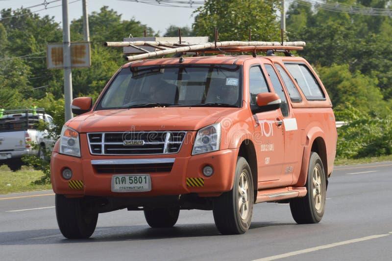 Ограничиваемая открытая акционерная компания МЛАДЕНЦА грузового пикапа транспортных обслуживаний стоковые изображения rf