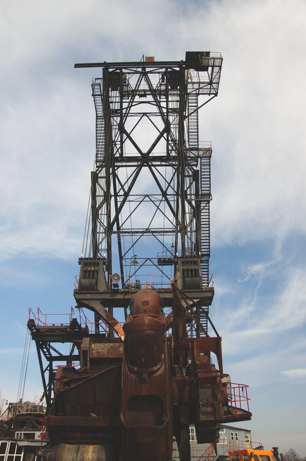 Огромная машина добычи угля стоковые изображения rf