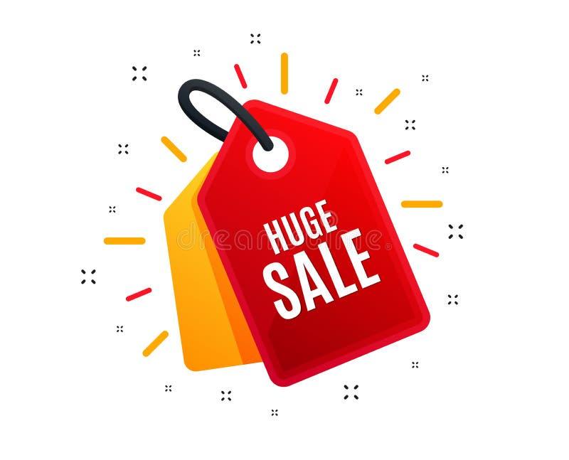 Огромная продажа r r иллюстрация вектора