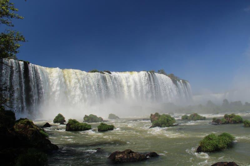 Огромное падение в southamerican национальный парк стоковая фотография rf