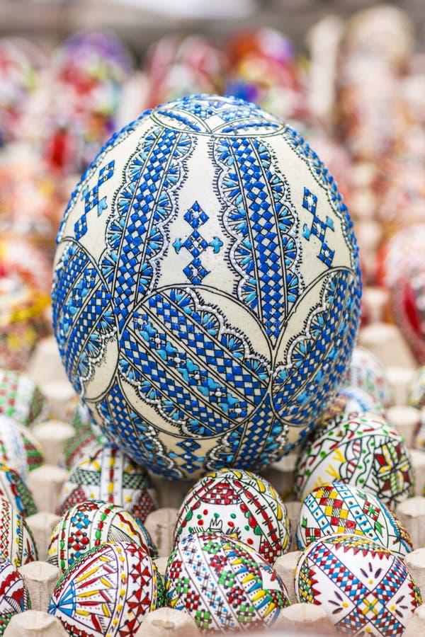 Огромное пасхальное яйцо стоковые изображения