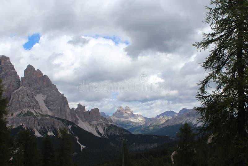 Огромные Альпы стоковые фото