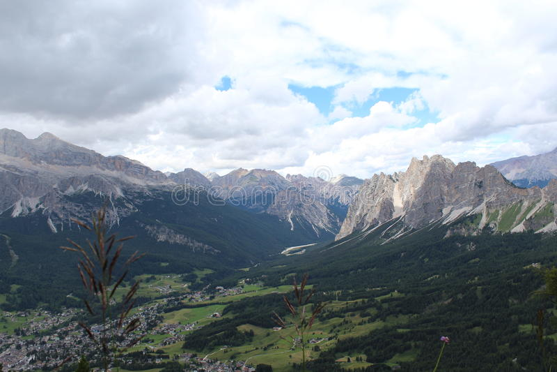 Огромные Альпы стоковые изображения rf