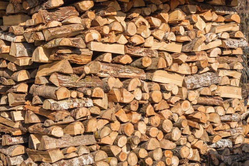 Огромный запас дровяных пород стоковые фотографии rf