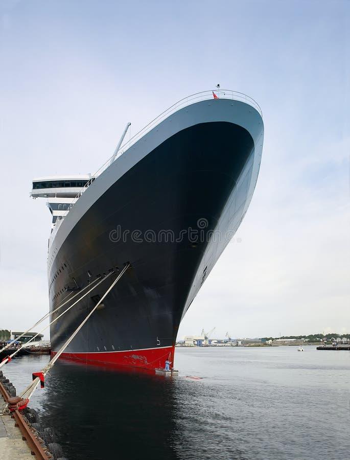 огромный пассажирский корабль стоковые изображения rf
