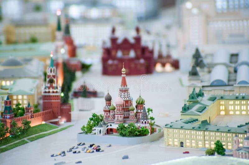Огромный план Москвы стоковая фотография