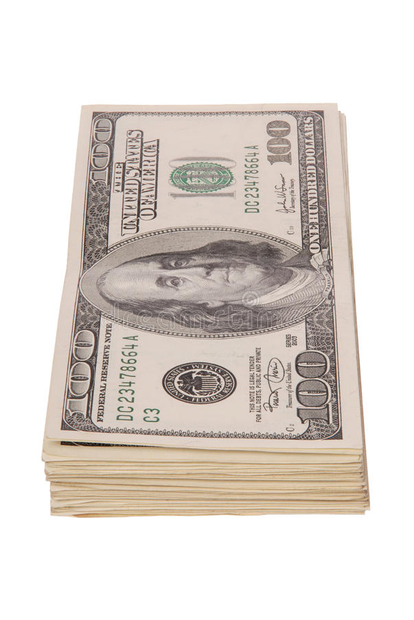Огромный стог наличных денег стоковая фотография
