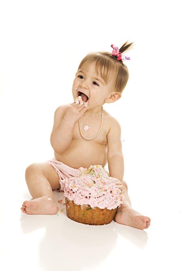 Огромный успех торта! стоковая фотография rf