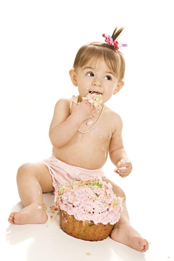 Огромный успех торта! стоковая фотография