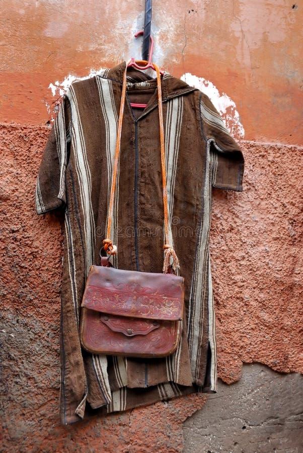 одевает сбывание Марокко стоковые фото
