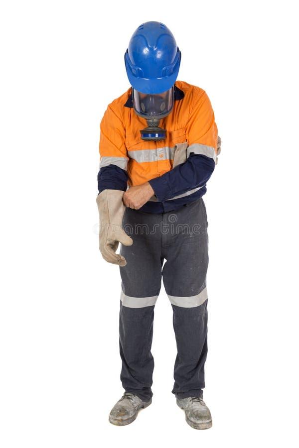 Одевать для опасной работы стоковые изображения rf