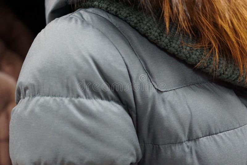 одежда outerwear клобука магазина бутика пальто воротника стоковое фото rf