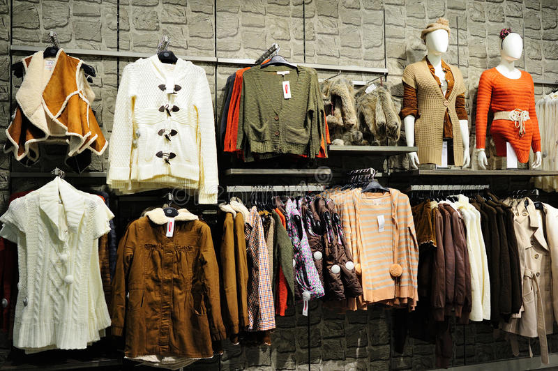 Одежды способа стоковые фотографии rf