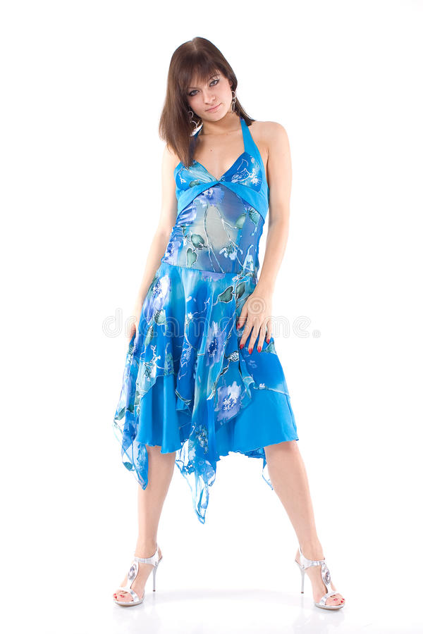 одетьйте девушку стоковое фото rf