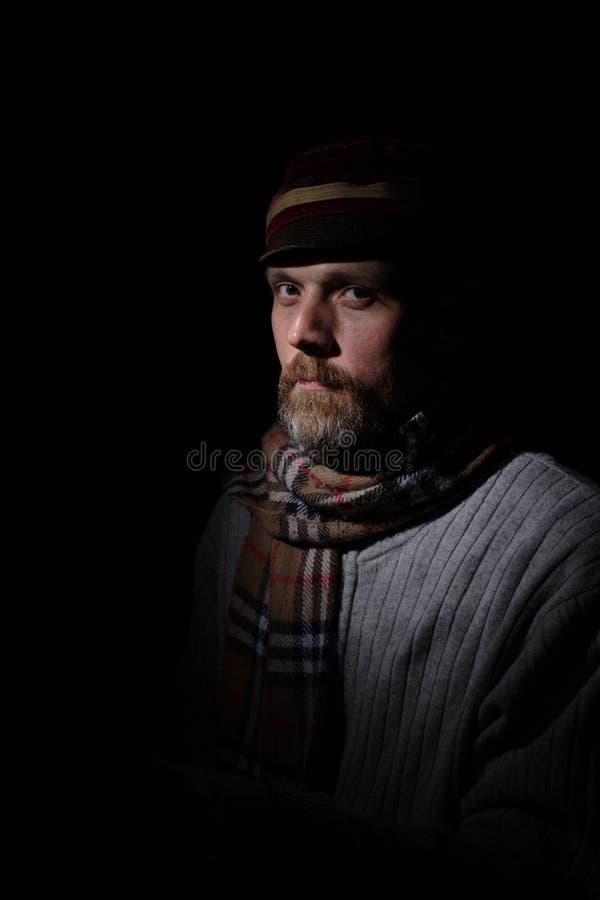 одетьнное время od человека стоковая фотография rf