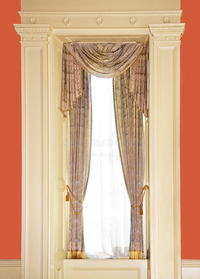 одетьнное окно стоковые изображения