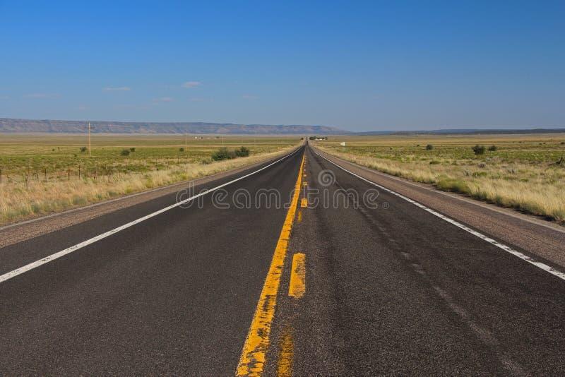 Одиночество на трассе 66 стоковые фотографии rf